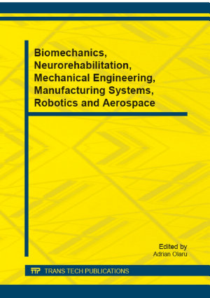 Biomechanics  Neurorehabilitation  Mechanical Engineering  Manufacturing Systems  Robotics and Aerospace