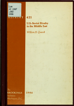 U.S.-Soviet Rivalry in the Middle East