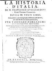 La historia d'Italia: divisa in venti libri