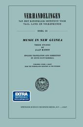 Music in New Guinea: Three Studies