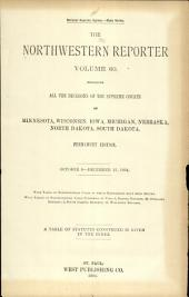 The Northwestern Reporter: Volume 60