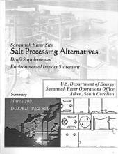 Savannah River Plant High Level Waste: Waste Form Selection, Aiken: Environmental Impact Statement