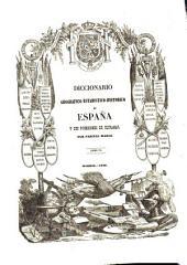 Diccionario geografico-estadistico-historico de España y sus posesiones de ultramar: BAR - BUZ, Volumen 4