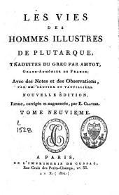 Oeuvres ; Les vies des hommes illustres: Volume9