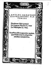 De dogmate Platonis