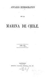 Anuario hidrográfico de la Marina de Chile: Volumen 7