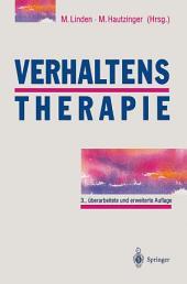 Verhaltenstherapie: Techniken, Einzelverfahren und Behandlungsanleitungen, Ausgabe 3