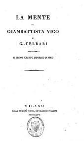Opere di Giambattista Vico: Volume 1