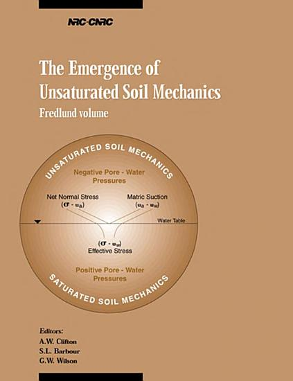 The Emergence of Unsaturated Soil Mechanics PDF