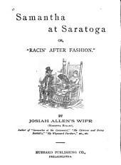 """Samantha at Saratoga, Or, """"Flirtin' with Fashion"""""""