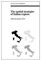The spatial strategies of Italian regions PDF