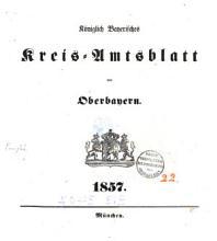 K  niglich bayerisches Kreis Amtsblatt von Oberbayern PDF