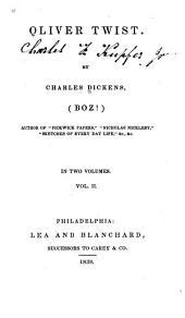 Oliver Twist: Volume 2