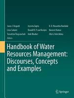 Handbook of Water Resources Management  Discourses  Concepts and Examples PDF