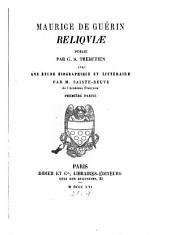 Reliquiae: Volume1