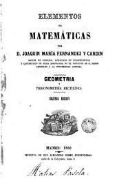 Elementos de matemáticas: geometría y trigonometría rectilínea