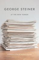 George Steiner at The New Yorker PDF