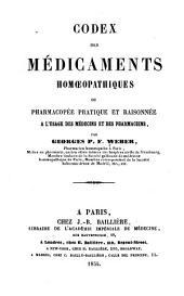 Codex des médicaments homoeopathiques