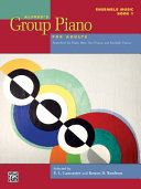 Alfred's Group Piano for Adults -- Ensemble Music, Bk 1