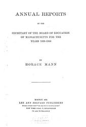 Life and Works of Horace Mann: Volume 3