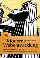 Moderne Webentwicklung PDF