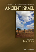 WILEY BLACKWELL COMPANION TO ANCIENT ISR PDF