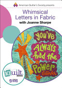 Whimsical Letters In Fabric Book PDF