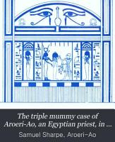 The triple mummy case of Aroeri Ao  an Egyptian priest  in dr  Lee s museum at Hartwell house  Bucks  Drawn by J  Bonomi   Syro Egypt  soc  of Lond    PDF