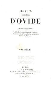 Œuvres complètes d'Ovide: Volume6