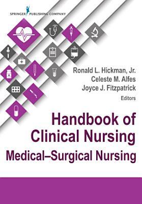 Handbook of Clinical Nursing  Medical Surgical Nursing