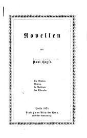 Novellen: Band 8