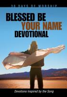 Blessed Be Your Name PDF