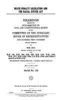 Death Penalty Legislation and the Racial Justice Act PDF