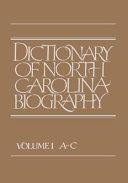 Dictionary of North Carolina Biography