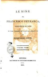 Le Rime di Francesco Petrarca,