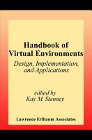 Handbook of Virtual Environments PDF