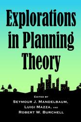 Explorations In Planning Theory Book PDF