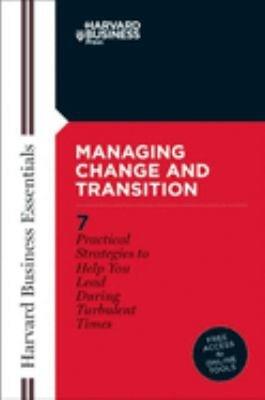 Managing Change and Transition PDF