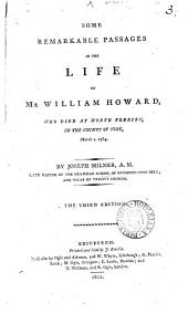 Some remarkable passages in the life of William Howard: Volume 3