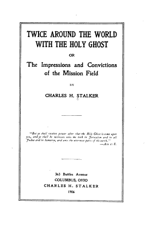 Twice Around the World with the Holy Ghost PDF