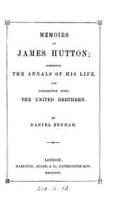 Memoirs of James Hutton