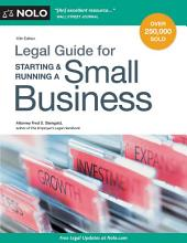 Legal Guide for Starting & Running a Small Business: Edition 15