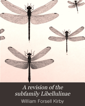 A Revision of the Subfamily Libellulinae: With Descriptions of New Genera and Species