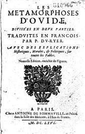 Les Métamorphoses d'Ovide, traduites en françois par P. Du Ryer,...