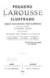 Pequeño Larousse ilustrado: nuevo diccionario enciclopédico
