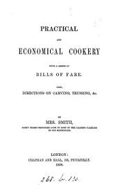 Practical and economical cookery with a series of bills of fare