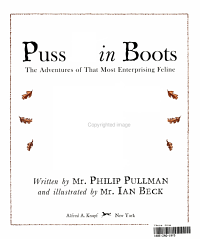 Puss In Boots Book PDF