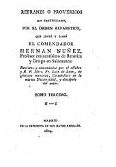 Refranes o proverbios en castellano ..