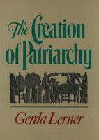 The Creation of Patriarchy PDF