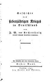 Geschichte des siebenjährigen Krieges in Deutschland: 1